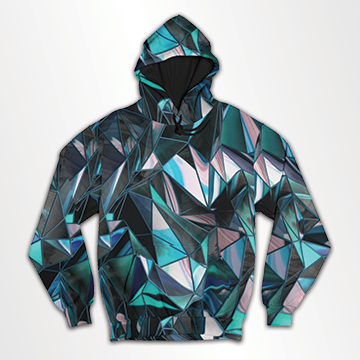 SALE - Diamond Gradient - All Over Hoodie & Sweatshirt