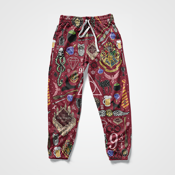 Harry Potter Collage - All Over Sweat Pants