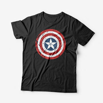 Captain America - Graphic Printed T-Shirts
