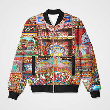 Truck Art- Bomber Jacket