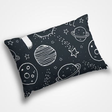 Space Collage - Pillow Cover