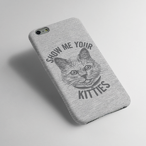 Show Me Your Kitties - Cat - Mobile cover