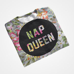 Nap Queen - All Over Printed T-Shirts