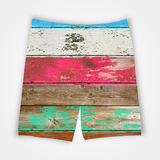 Wooden Color Pattern - All Over Printed Shorts