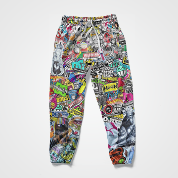 Gaming Tag -  All Over Sweat Pants