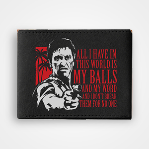 Scarface - Graphic Printed Wallets