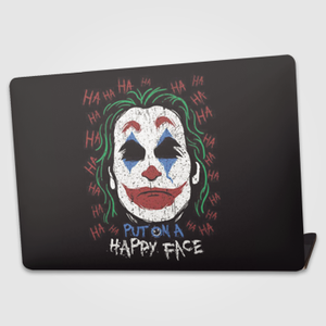 Put On A Happy Face - Joker   - Laptop skin