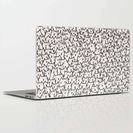Laptop Skin Cats