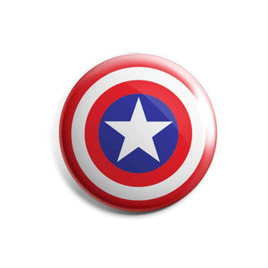 Captain America Shield - Badge