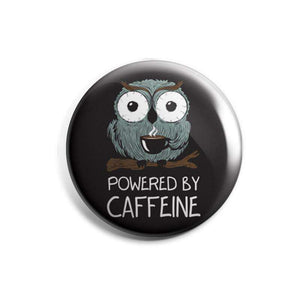 Powered By Caffeine - Badge