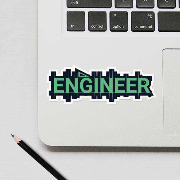 Engineer - Cutout Sticker