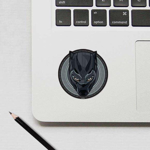 Black Panther - Cutout Sticker.