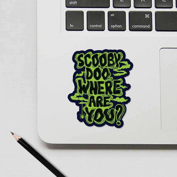 Scooby doo Where are you? - Cutout Sticker