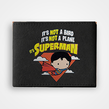 Its Superman - Graphic Printed Wallets