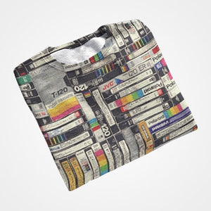 Books Collage  - All Over Printed T-Shirts