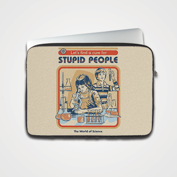 Stupid People - Laptop & Tablet Sleeve