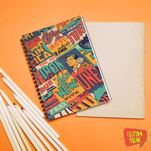 Vintage Comic- Notebook