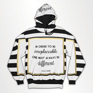 In Order To Be Irreplaceable - All Over Hoodie & Sweatshirt