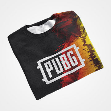 PUBG Guy - All Over Printed T-Shirts