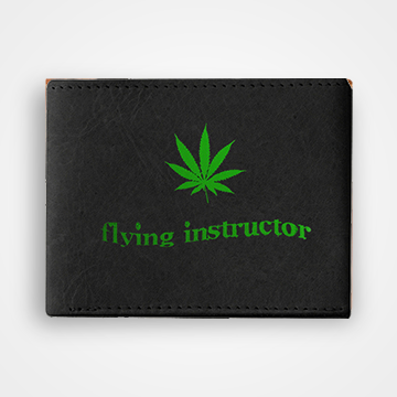 Flying Instructor - Graphic Printed Wallets
