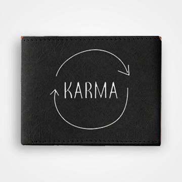 Karma - Graphic Printed Wallets