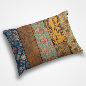 Wooden Pattern - Pillow Cover