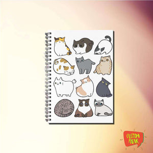 Notebook Cat And Cats