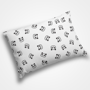 Panda Collage - Pillow Cover