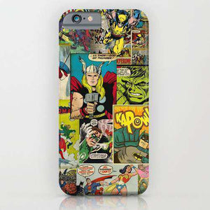 Comic Printed Cell Cover - Cell Cover