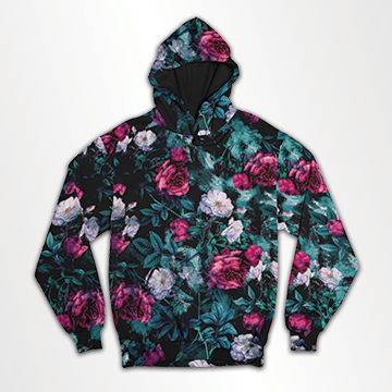 Floral - All Over Hoodie & Sweatshirt