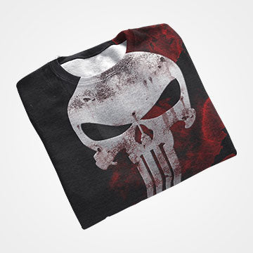 Punisher  - All Over Printed T-Shirts