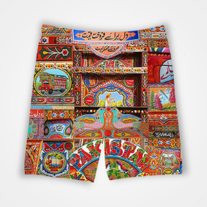 Truck Art - All Over Printed Shorts