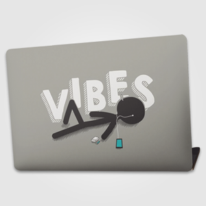 Vibes   - Laptop skin