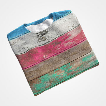 Wooden Colors - All Over Printed T-Shirts