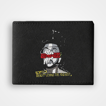 Beauty Behind The Madness - Graphic Printed Wallets