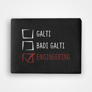 Ghalti Badi Ghalti Engineering - Graphic Printed Wallets