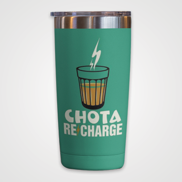 Chota Re Charge - Chai - Travel Mug