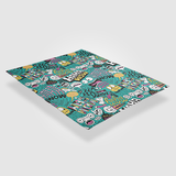 Funky Collage - Throw Blankets