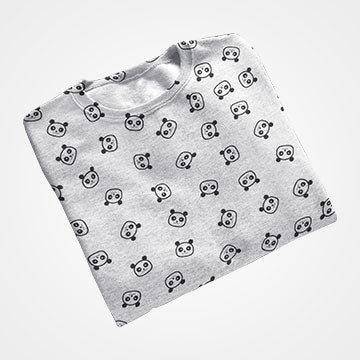 Panda Collage - All Over Printed T-Shirts