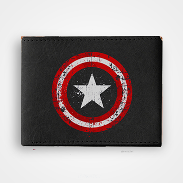 Captain America - Graphic Printed Wallets
