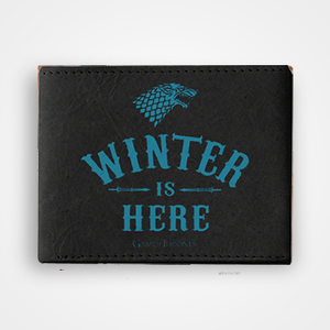 Winter Is Here - Graphic Printed Wallets