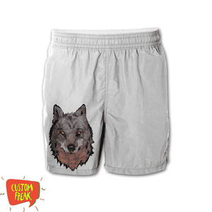 Wolf - Graphic Printed Shorts