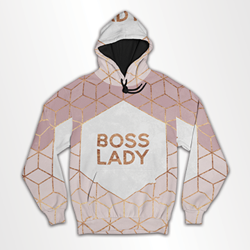 Boss Lady - All Over Hoodie & Sweatshirt