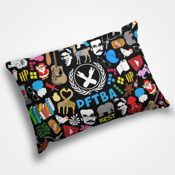 DFTBA Collage -  Pillow Cover