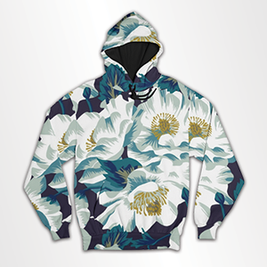 Floral Collage- All Over Hoodie & Sweatshirt
