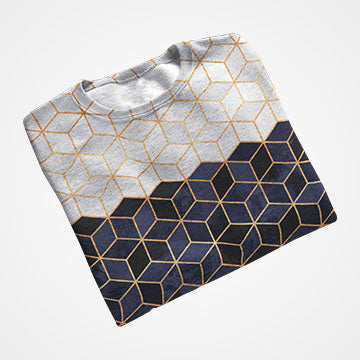 Gradient - All Over Printed T-Shirts