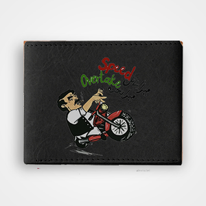 Speed Over Take - Sheikh Rasheed - Graphic Printed Wallets