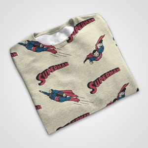Superman Collage - All Over Printed T-Shirts