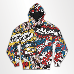 Modern Comic- All Over Hoodie & Sweatshirt