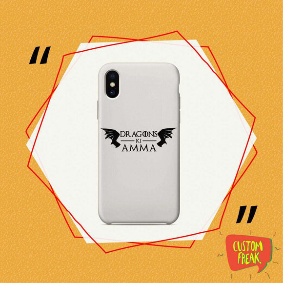 Mother Of Dragons - Game Of Thrones - Cell Cover - Cell Cover
